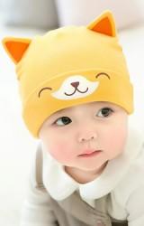 หมวกเด็กเล็กลายลูกสุนัขหูตั้ง  จาก GZMM