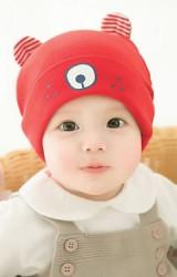 หมวกเด็กเล็กหมีน้อย  จาก GZMM