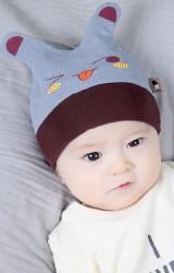 หมวกบีนนี่สกรีนหน้าการ์ตูนหูยาวๆ จาก TIANYIBEAR