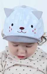 หมวกแก๊ปหน้าแมวน้อยลายจุด TIANYIBEAR