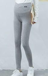 กางเกงเลคกิ้งคนท้องขายาวแบบเอวต่ำ ผ้านิ่มยืดหยุ่นสูง