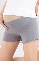 กางเกงซับในคนท้องผ้ายืดเอวต่ำ ผ้ายืดลายทางลายใหญ่ในตัว