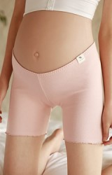 กางเกงซับในผ้ายืดเอวต่ำขอบโค้ง