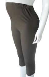 กางเกงเลคกิ้งคลุมท้องแบบเรียบๆ ขา 4 ส่วน