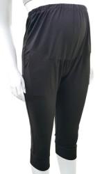กางเกงเลคกิ้งคนท้องปลายขาต่อ ขา 4 ส่วน