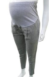 กางเกงทำงานคลุมท้องขายาวสีเทา