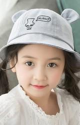 หมวก Bucket ปักหมีน้อยแต่งหูน่ารักๆ จาก KUKUJI
