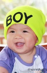 หมวก BOY สำหรับเด็กชายใส่เท่ๆ