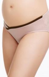 กางเกงในคนท้องเอวต่ำ ตัดขอบสีเข้มด้านล่าง