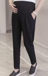 กางเกงคลุมท้องขายาวสีดำ