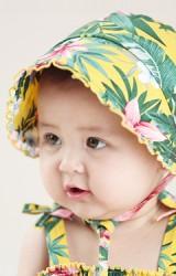 หมวกผูกคางลายใบไม้และดอกไม้สวยๆ  Angel Neitiri