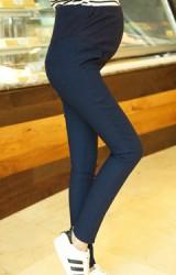 กางเกงคนท้องขายาวไซส์ใหญ่ ผ้ายืดหยุ่นสูง