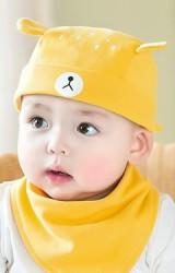หมวกเด็กโจรสลัดหน้าหมีน้อยน่ารัก GZMM