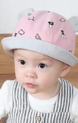 หมวกเด็กแต่งหูลายมงกุฎ