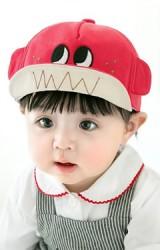 หมวกแก๊ปปักตาโตแต่งหูน่ารัก จาก GZMM