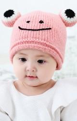 หมวกไหมพรมกบน้อยอารมณ์ดี