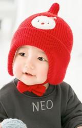 หมวกไหมพรมยอดแหลมแต่ง Snowman จาก GZMM