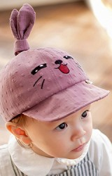 หมวกแก๊ปกระต่ายน้อยหูตั้ง KUKUJI