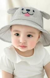 หมวกกันแดดเด็กหน้าสัตว์น้อยน่ารักๆ ผ้าตาข่าย GZMM