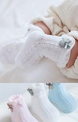 ถุงเท้าเด็กขอบแต่งตุ๊กตากระต่าย