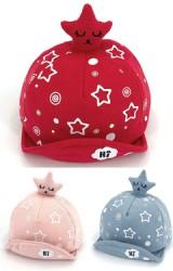หมวกแก๊ปแต่งการ์ตูนดาว ตัวหมวกลายดาว