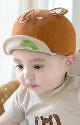หมวกแก๊ปกบน้อย ใต้ปีกปักใบบัว จาก GZMM