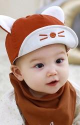 หมวกแก๊ปแมวน้อยหูตั้ง จาก TUTUYA