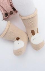 เซ็ตถุงเท้าเด็ก 3 คู่ หน้าหมี แมว กระต่าย
