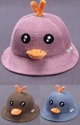 หมวก Bucket เป็ดน้อยน่ารัก กดปากแล้วมีเสียงร้อง