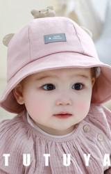 หมวก Bucket แต่งหมีน้อยน่ารัก TUTUYA