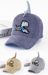 หมวกแก๊ปไดโนเสาร์ แต่งอักษร baby