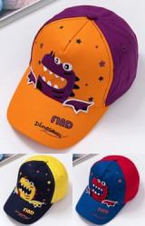 หมวกแก๊ป Dinosaurs สีสันสดใส