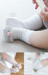 ถุงเท้าเด็กน่ารัก มีกันลื่น