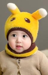 หมวกกระต่ายน้อยขนฟู  Winter Bunny จาก GZMM