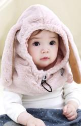หมวกกันหนาวกระต่ายหูยาวขนฟู  TUTUYA