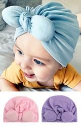 หมวกอินเดีย หมวกสาวน้อยโบว์กระต่ายนูน