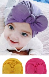 หมวกอินเดีย หมวกสาวน้อยโบว์นูนน่ารัก