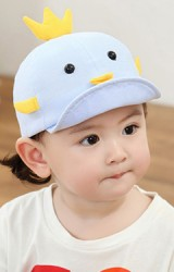 หมวกแก๊ปลูกเจี๊ยบ หมวกเด็กน่ารัก KUKUJI