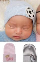 หมวกเด็กแรกเกิดแต่งการ์ตูนน่ารัก