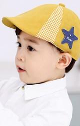 หมวก Flat Cap แต่งดาว