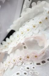 สายคาดผมเดซี่ผ้าชีฟองแบบดอกเรียง Angel Neitiri