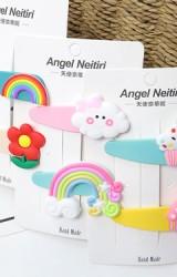 กิ๊บเด็กน่ารักสีสันสดใส แพ็ค 2 ชิ้น  Angel Neitiri
