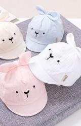 หมวกแก๊ปเด็กเล็กกระต่ายน้อย