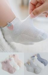 ถุงเท้าเด็กน่ารัก แพ็ค 3 คู่ แบบข้อสั้น
