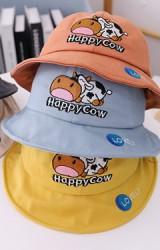 หมวก Bucket วัวน้อย Happy cow