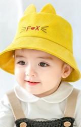 หมวกบักเก็ต Fox ผ้าลูกฟูก GZMM