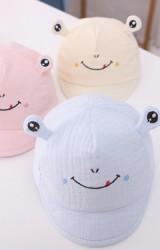 หมวกแก๊ปกบน้อย หมวกเด็กเล็กผ้านิ่ม