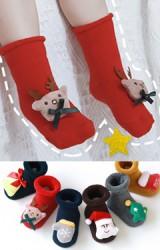 ถุงเท้าเด็กคอลเลคชั่น Merry Christmas