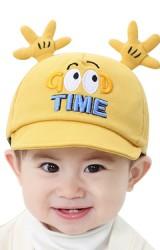 หมวกแก๊ป GOOD TIME ด้านบนแต่งรูปมือ