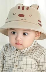 หมวกบักเก็ตเสือน้อยน่ารัก หมวกกันแดดน่ารัก GZMM